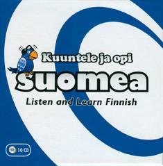 Kuuntele ja opi suomea! (cd)
