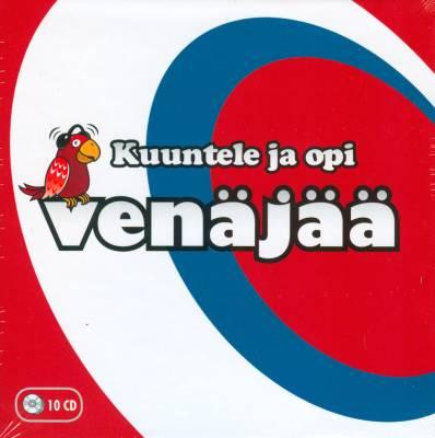 Kuuntele ja opi venäjää (10 cd)