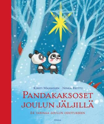 Pandakaksoset joulun jäljillä