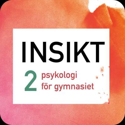 Insikt 2 psykologi för gymnasiet digibok 48 mån ONL