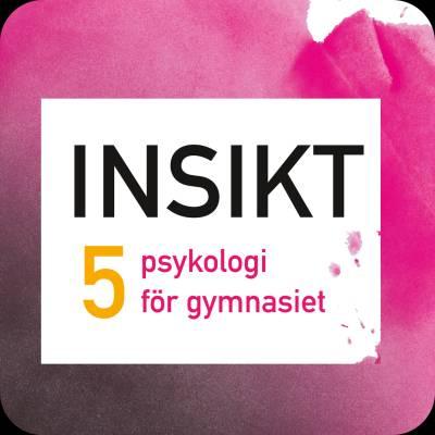 Insikt 5 psykologi för gymnasiet digibok 48 mån ONL