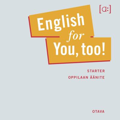 English for you, too! (cd)