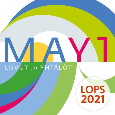 MAY1 Luvut ja yhtälöt (LOPS21) digikirja 12 kk ONL