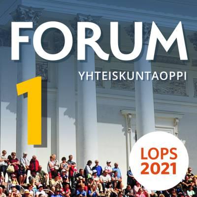 Forum Yhteiskuntaoppi 1 (LOPS21) digikirja 12 kk ONL