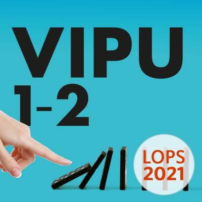 Vipu 1-2 (LOPS21) digikirja 12 kk ONL